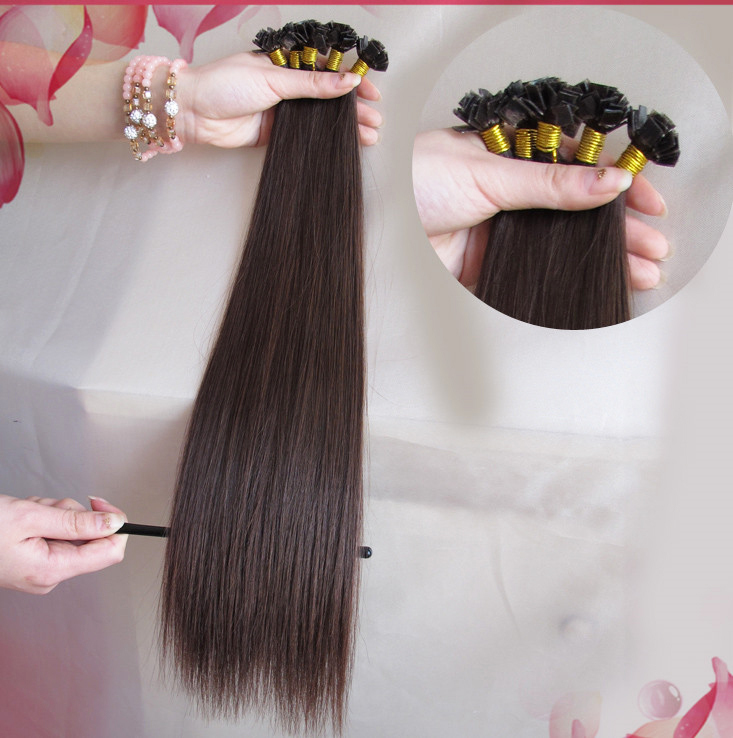 New Arrival Flat Tip Pre Bonded Premium Silky Straight Cheap Remy