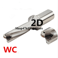 ZD02 48mm 65mm WC Drill Type For 2D U Drilling Shallow Hole metal working indexable insert drills