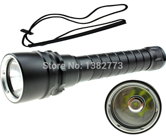 2000 Lumens CREE XM-L2 LED Waterproof Diving Flashlight Torch 50M Underwater Diver Flash Light Lamp (2x 18650 battery) high power torch 2000 lumens li batteries led flashlight torch light outdoor lighting