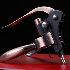 Image 1 - Professionele Zinklegering Wijn Opener Lever Arm Staal Konijn Kurkentrekker Wijn Flesopener Tool Cork Dropshipping