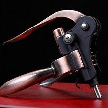 Profissional liga de zinco abridor de vinho alavanca braço aço coelho saca rolhas vinho abridor ferramenta cortiça dropshipping