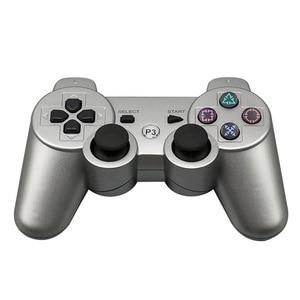 Image 3 - EastVita mando inalámbrico Bluetooth para PS3, 2,4 GHz, 7 colores para Playstation 3, mando r25