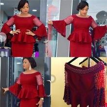 Элегантные женские платья в африканском стиле; robe femme africain;
