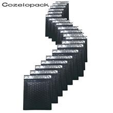 10PCS #0 6x10inch Black Poly Bubble Mailer Padded Envelopes 170x230mm Self seal Mailing Bag Envelope Shipping envelopes