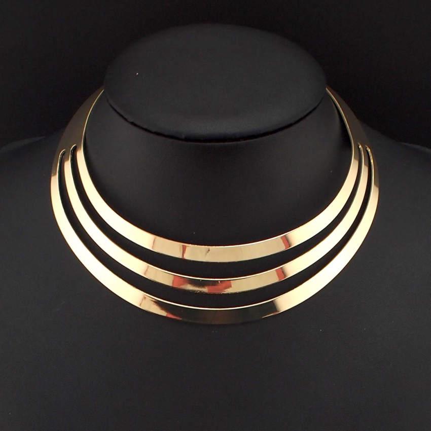 Aliexpress.com : Buy Fashion Alloy Torques Neck Choker ...