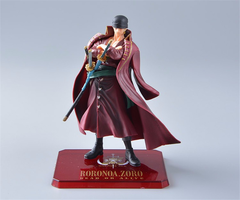 Zoro Figure Anime Doll Collection Cosplay Toy Action-16cm One-Piece PVC No 6-Film Gift