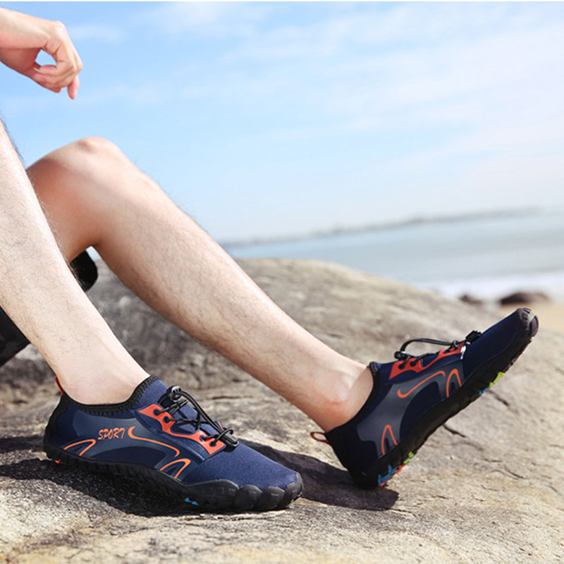Unisex Water Shoes For Barefoot Shower Swimming Diving Surfing Quick Easy Wear