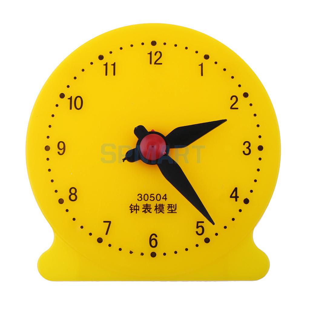 Students Math Clock Model Time Clock 2 Pin Linkage Primary School ...