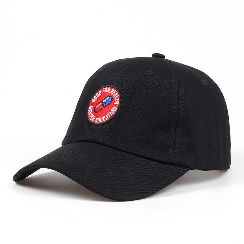 ¡Novedad de 2018! Gorra de béisbol Bad For Education de verano para hombre y mujer, gorra de béisbol de algodón con cierre ajustable, gorra de golf de Hip-hop