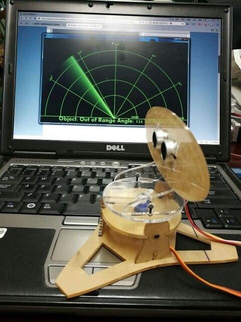 لتقوم بها بنفسك الاكريليك مايكرو بالموجات فوق الصوتية رادار Duino تطبيق للتعليم التعلم 400 مللي متر كشف المسافة بالموجات فوق الصوتية جهاز الإرسال والاستقبال