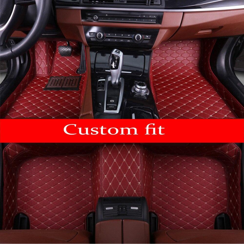 Car floor mats for Toyota Camry Corolla Mark X Crown Verso FJ Cruiser yaris L 5D car-styling carpet floor linerCar floor mats for Toyota Camry Corolla Mark X Crown Verso FJ Cruiser yaris L 5D car-styling carpet floor liner