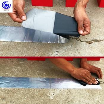 Impermeabile Nastro Adesivo Perdite Auto Aderito Forte Costruzione Tetto Bobina Crepa Gap Guarnizione Di Tenuta Pasta Gronda Tubo Di Muro Di Cemento Di Terra