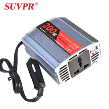 Car inverter 12 v to 220 vehicle power supply switch notebook mobile phone charger