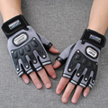Men Army Tactical Gloves 2017 Soldier Outdoor Sport Half Finger Combat Motocycle Slip-resistant Carbon Fiber Tortoise Shell