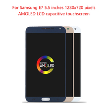AMOLED 5.5 LCD For Samsung Galaxy E7 E7000 Display Touch Screen Digitizer Assembly Pantalla Replacement