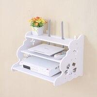 Creative Home TV Cabinet Set Top Box Frame Router Shelf Storage Carrier Storage Rack Partition Pylons