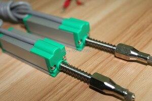 Автоматический сброс KTR типа 25-100 мм линейный датчик перемещения электронная линейка миниатюрный пружинный смещение шкала преобразователя