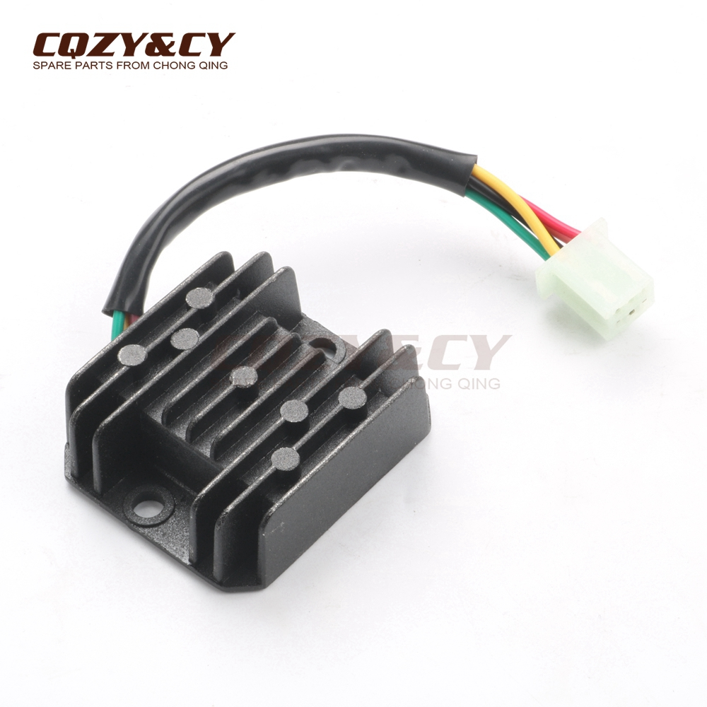 Voltage Regulator Rectifier 5 Wires Pin 12v For Kymco Agility 2t Wiring Diagram Honda Ns F R125 Nsr