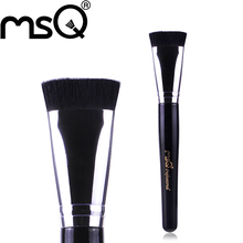 MSQ Brand Professional Cosmetics Makeup Tool And Top Quality Synthetic Hair Single Makeup Brush Flat Contour Brush For Beauty
