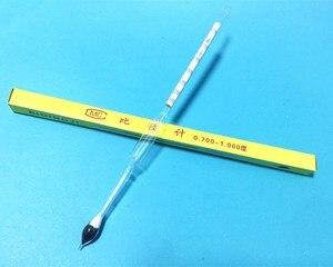 Image 1 - ライトボーメ比重計濃度計 0.700 1.000 石油液体計比重計高精度 70 10 長さ 250 ミリメートル 5 ピース