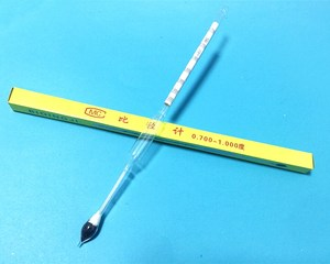 Image 1 - Light Baume Glass Float Gauge Densitometer 0.700 1.000 Petroleum Liquid Meter Hydrometer High Precision 70 10 Length 250mm 5pcs
