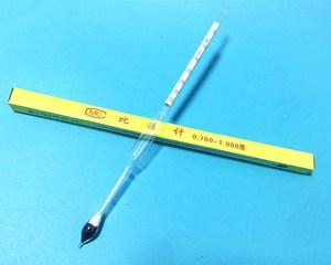 Image 1 - 라이트 baume 유리 플로트 게이지 농도계 0.700 1.000 석유 액체 미터 습도계 고정밀 70 10 길이 250mm 5 pcs