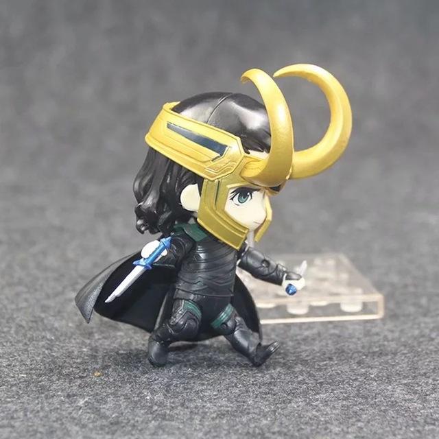 Фигурка Локи 10 см Marvel нендроид ПВХ 5