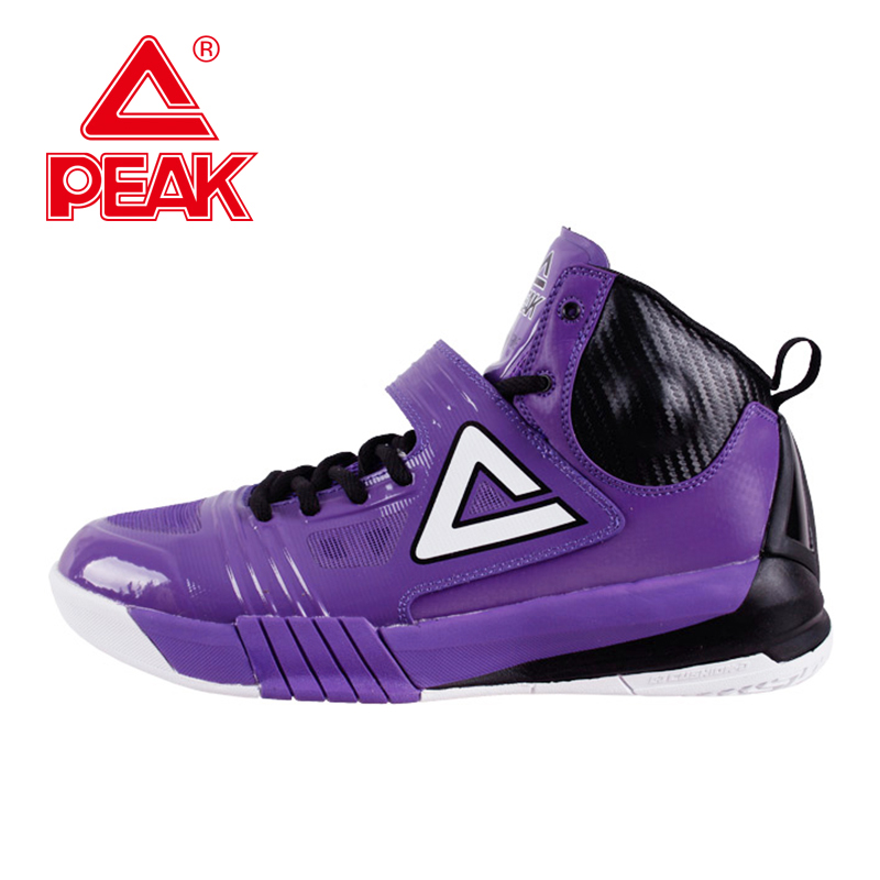 PEAK SPORT Hurricane II Professional Player Carl Landry Basketball Shoes Men FOOTHOLD Cushion-3 Tech Sneakers Boots EUR 40-50 peak sport lightning ii men authent basketball shoes competitions athletic boots foothold cushion 3 tech sneakers eur 40 50