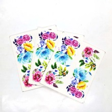 Flower Series Nail Art Water Transfer Stickers Full Wraps /Nail Tips DIY A07