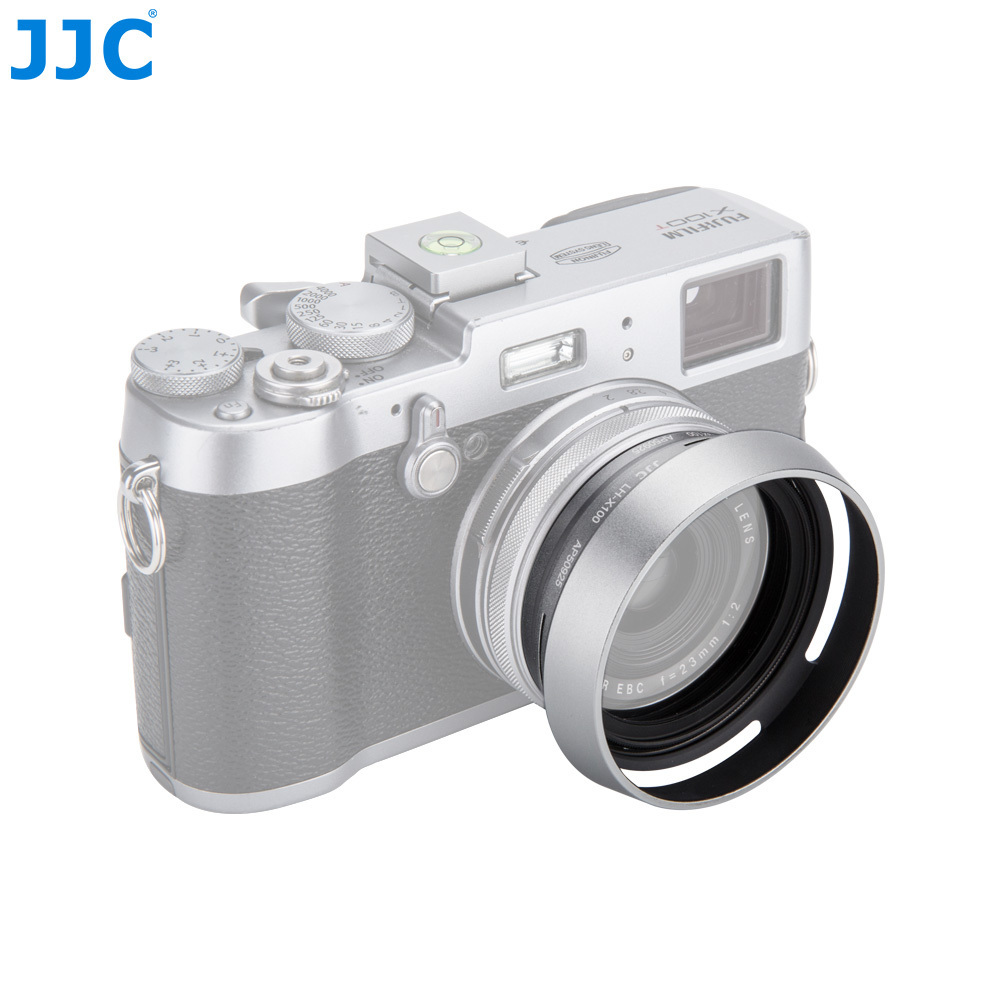 JJC Camera Metal Lens Hood Screw Adapter Ring 49mm For FUJIFILM X7/X100/ X100S/X100T/X100F Replaces LH-X100