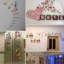 12Pcs Magnet butterflies for kids rooms