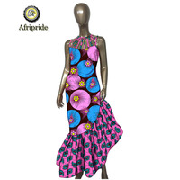 2019 African dresses for women party wedding sexy crop top women dress ankara fabric dashiki clothing clothes AFRIPRIDE S1925064