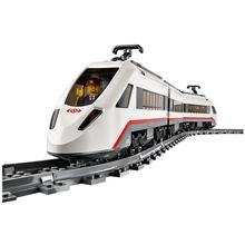 LEPIN City Trains High-speed Passenger Train Building Blocks Sets Bricks Model Kids Figurre Toys for children gift(China)