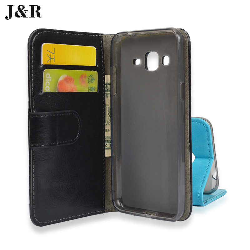 For Galaxy J3 2016 cover Leather Case for Samsung Galaxy J3 2016 J320 J320P J3109 J320M J320Y SM-J320F Phone Bag&Protective