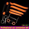 12pcs/set Plastic Car Radio Door Clip Panel Trim For BMW E46 E52 E53 E60 E90 F01 F20 F10 F30 F15 X1 X3 X5 X6