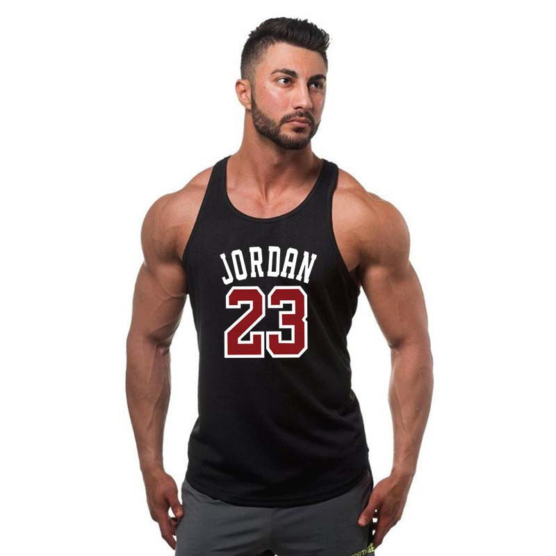 2019 Summer sale new clothing Brand singlet bodybuilding stringer   tank     top   men fitness muscle guys sleeveless vest Tanktop