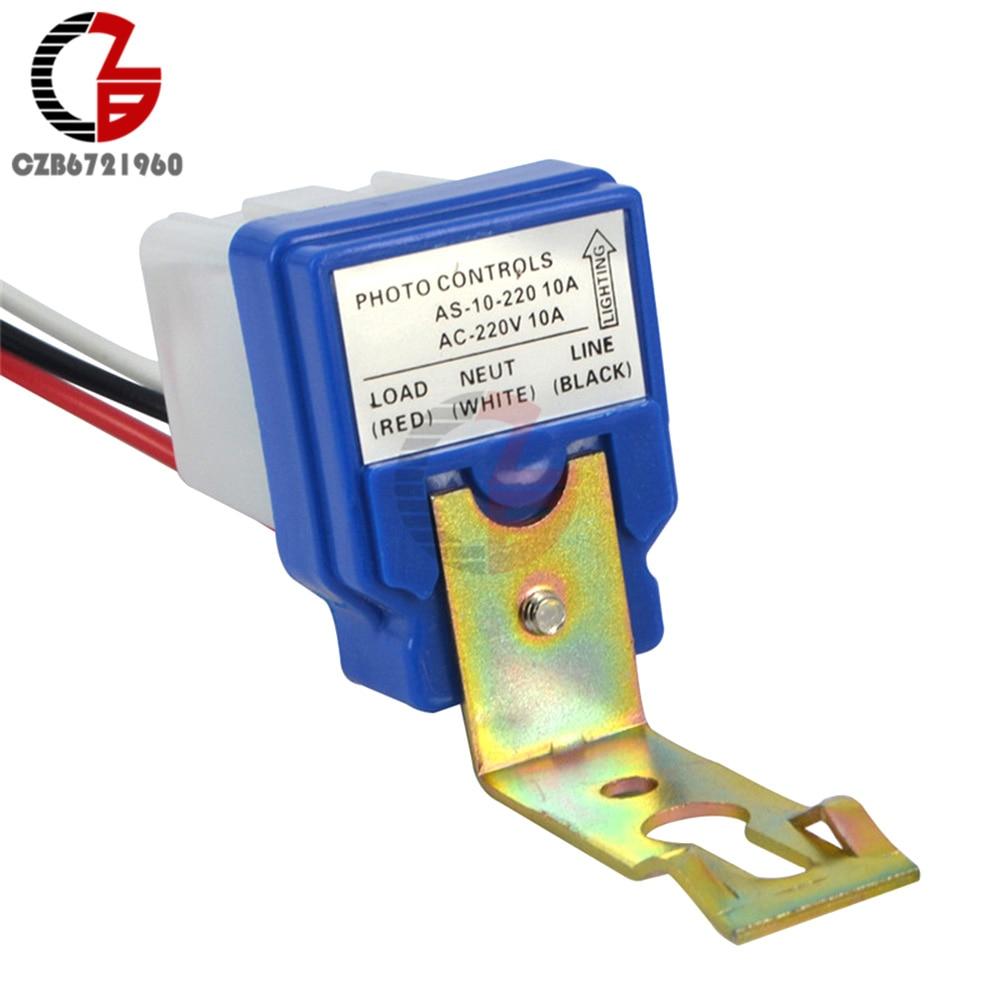 220 В, 12 В, 24 В постоянного тока выключатель автоматический Автоматическое - Цвет: AC 220V