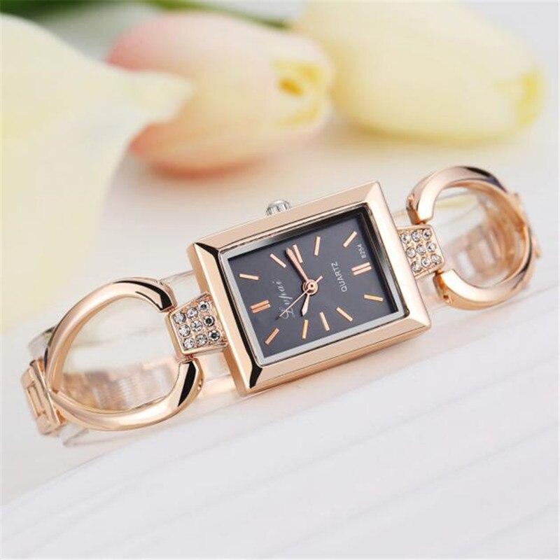 Watch Women Gold Vintage Luxury Clock Women Bracelet Watch Ladies Brand Luxury Women Clock Gifts Business Reloj Mujer 3L45