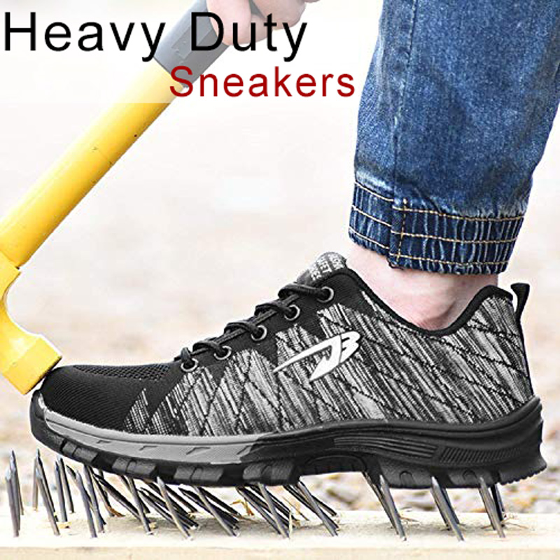 Construction-Sneakers Safety-Shoes Steel High-Quality Women FG66 Work Toe-Protect Industrial title=