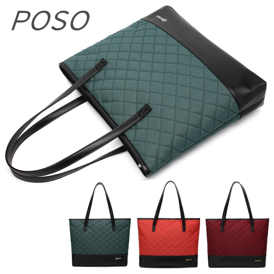 2019 New Brand POSO Handbag Bag For Laptop 15,15.4,15.6 inch, Lady Bag Shoulder, Case For Macbook Notebook, Drop Free Shipping2019 New Brand POSO Handbag Bag For Laptop 15,15.4,15.6 inch, Lady Bag Shoulder, Case For Macbook Notebook, Drop Free Shipping