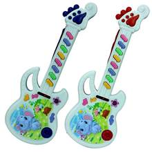 2018 High Quality Baby Acoustic Elephant Guitar Musical Instrument Baby Toy(China)