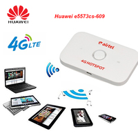 Original Unlocked Huawei E5573cs 609 4G Router Portable WiFi Car WiFi Modem Dongle Lte Wifi Router Pocket Mobile Hotspot