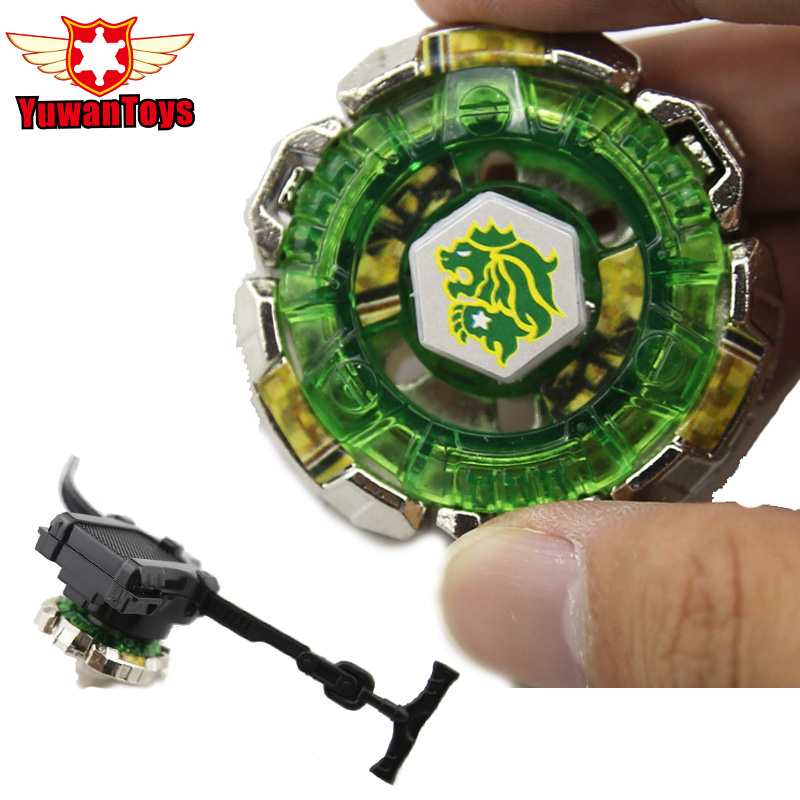 New 1Pcs Beyblade Metal Fusion 4D Set FANG LEONE 130WD Launcher Kids Game Toys Children Christmas