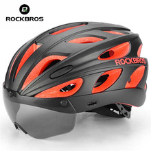 ROCKBROS Ultralight Cycling Helmet Men Women Integrally-molded 2018 Bike Helmet MTB Road Bicycle Goggles Helmets With Sunglasses