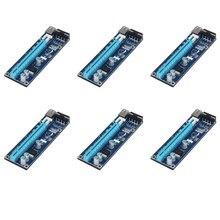0.6 м стабильный pci-e Riser Card PCI E USB 3.0 1x к 16x Графика Express Riser Card Extender для Bitcoin горно Miner машины