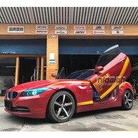 Фирменная Новинка Z4 E89 Одежда высшего качества шарнир для дверей ножниц вертикальный ручной комплекты Lambo дверь для BMW Z4 E89