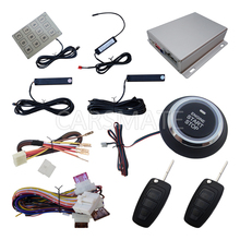 Smart Flip Key Car PKE Alarm System Passive Keyless Entry Remote Start Engine Fast Shipping Within 24 Hours