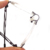 Laura de Hadas Rhinestone Decoración Marco de los Vidrios de las mujeres Miopía Marco de Anteojos Marcos Ópticos Sin Rebordes Ópticos Titanium de la Memoria F