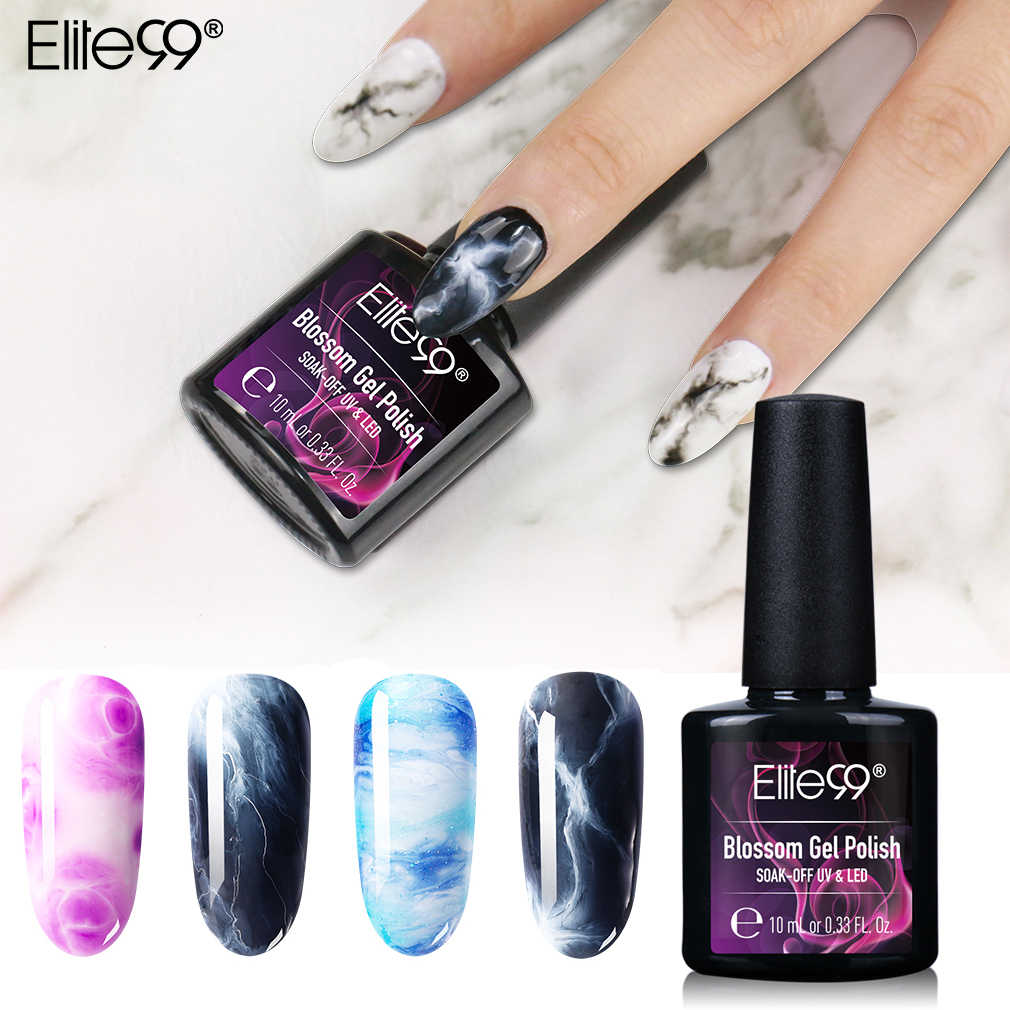 Elite99 10 ml Blooming Effect Gel เล็บ Blossom Gel Lacquer Magic Professional Varnish Soak Off UV Led ยาว - ยาวนาน Vernis