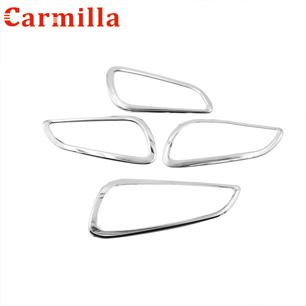 carmilla car stainless door handle protector sticker inner